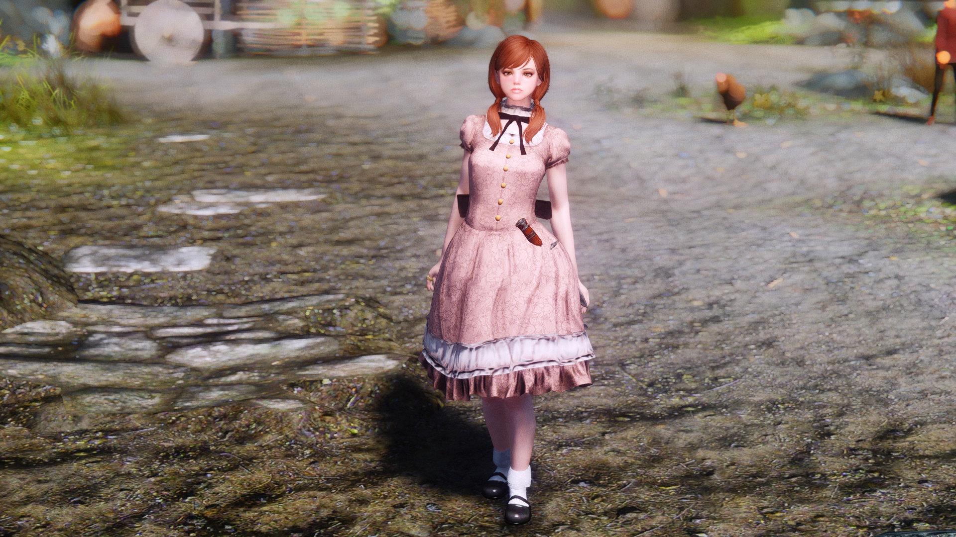 Ophelia Follower SE - Skyrim Special Edition - Schaken-Mods