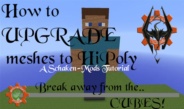 """How to make (Or upgrade to) """"HiPoly"""""""