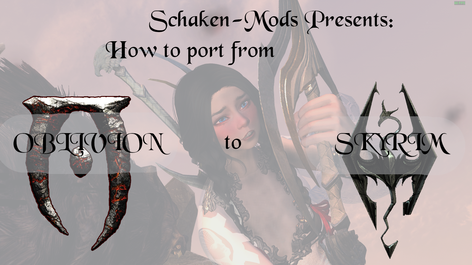 Port from FO4/Oblivion to Skyrim (Meshes)