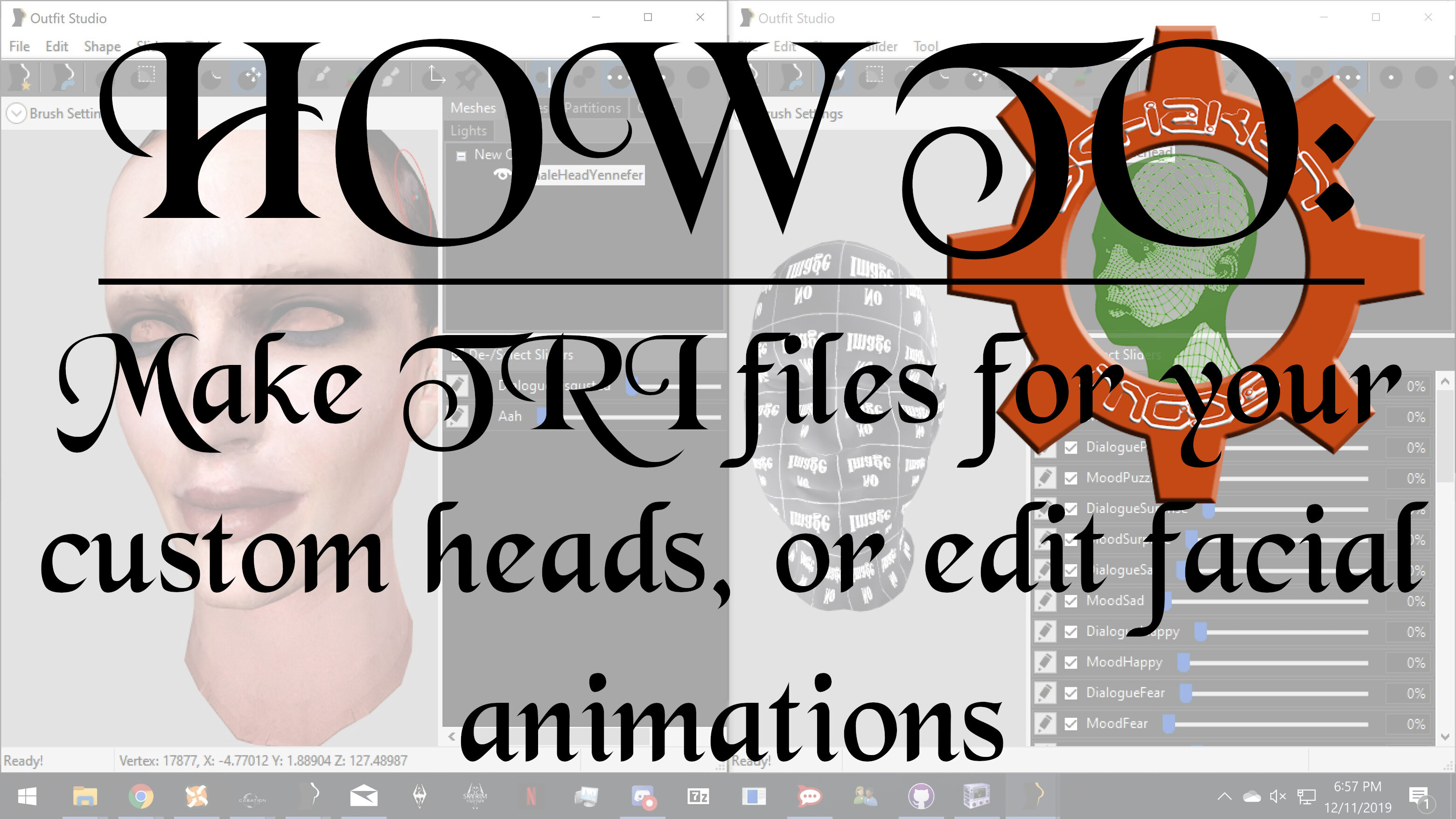 HOW TO: Make TRI files for your custom heads.